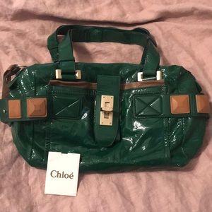 Chloe patent leather bag
